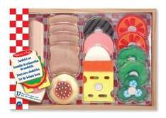 Melissa & Doug Wooden Sandwich Making Set Now £7.49 (plus delivery or free with prime, +£10spend) at Amazon