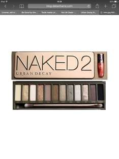 Urban Decay Naked Palette 2/3 £32 @ Feel Unique