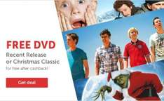 Free DVD with Topcashback & Zavvi max spend £10 (New members)