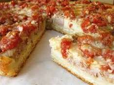CHICAGO TOWN DEEP DISH PIZZA WITH FREE SLICE SABRE PROMO £1