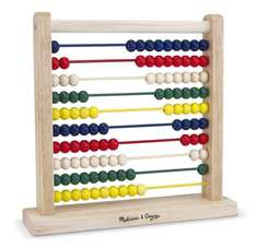 Melissa & Doug Wooden Abacus £6.58 @ Amazon (free delivery £10 spend/prime)