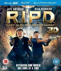 R.I.P.D.: Rest in Peace Department [Blu-ray 3D + Blu-ray] only £5.90 at Amazon (free delivery £10 spend/prime)