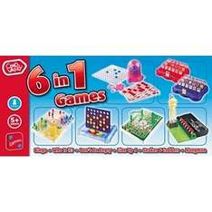 Chad Valley 6-in-1 Games, Reduced To £4.99 R&C @ Argos