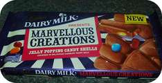2 for £3 , 200g bars of cadburys marvellous creations, jelly popping candy @ RS McColls