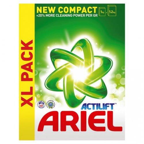 Tesco *GLITCH* Ariel Washing Powder 2.6Kg 40 Washes online for £4