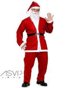 Father Christmas Fancy Dress Costume £3.98 @ Ebay/ASVP (Free Delivery or Collection from Argos)