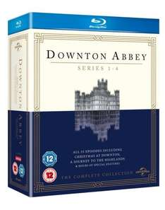 Downton Abbey - Series 1-4 [Blu-ray] [2010] £14.51 @ Amazon