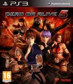 Dead or alive 5 ps3 new £3 @ game.co.uk