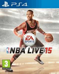 NBA LIVE 15 on PS4 and XBONE at Game only £19.99!!