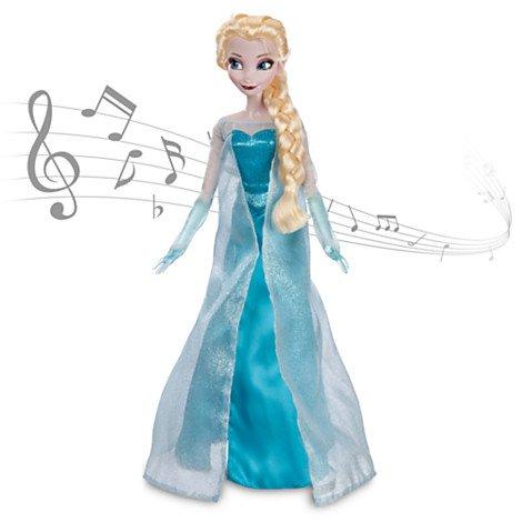 disney  elsa  singing doll  back  to  stock £29.95 delivered at The Disney Store