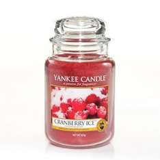 *** £9.99  + £3.50 P&P deal of the day. Internet gift store Yankee candle cranberry ice jar large save 50% and TCB too. 10% off for new members @ Internet Gift Store