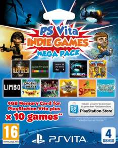 Ps Vita Indie Games mega pack in store at Tesco £14