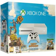 White Xbox One with Sunset Overdrive was £349.99 NOW £299.99 @ Zavvi