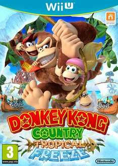 Donkey Kong Country Tropical Freeze Wii U @ Toys R Us