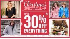 Up to 30% off everything bhs