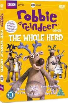 Robbie The Reindeer Trilogy: The Whole Herd (DVD) £5.25 @ BBC SHOP