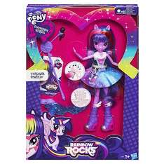 My Little Pony Equestria Girls - Rainbow Rocks Twilight Sparkle Doll was £25 now £12.50 - the entertainer