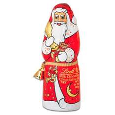 Lindt Santa Claus 125g 2 for £4 in Tesco (£3 each)