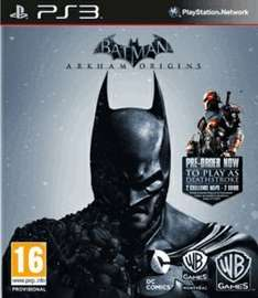 PS3 - Batman: Arkham Origins Heroes and Villains Edition - GAME - £3.00