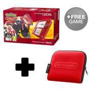 Nintendo 2DS Transparent Red or Blue + Pokemon Omega Ruby/Alpha Sapphire + Free Download Game + Free Official Case + 3.67% Topcashback @ Nintendo Store