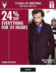 Burton 24% off everything - 24hours - online