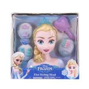Frozen Elsa Styling Head 12.99 in B&M
