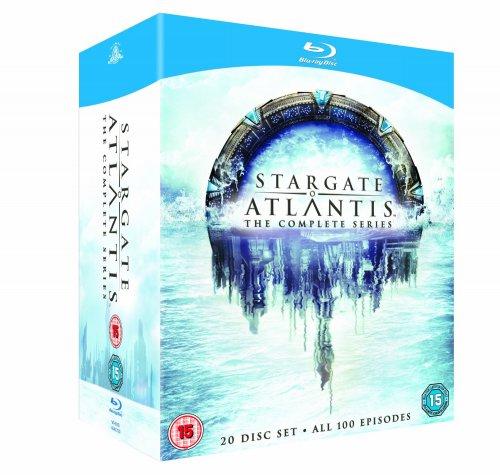 Stargate Atlantis - Complete Season 1-5 [Blu-ray] [Region Free] , £36.70 from amazon