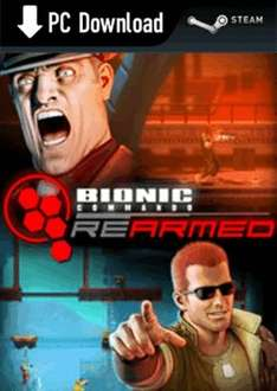Bionic Commando: Rearmed (Steam) £1.62 Download @ Game