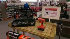 Black and decker drill set £79.99 @ Homebase (Truro in store)