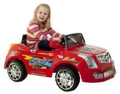 Xenta Dual 6V Motor Red Ride On Electric Car now £49.98 delivered @ Ebuyer