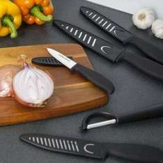 Morphy Richards Ceramic Accents Knife Set with Peeler, Set of 5, £26.97 from £100! + Free delivery on Mopodo / Amazon
