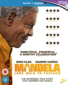 Mandela: The Long Walk to Freedom (Includes UltraViolet Copy) - Blu-ray £7.99 @ Zavvi