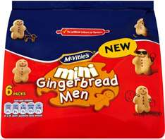 McVitie's Mini Gingerbread Men (6 x 25g) was £1.69 now £1.00 @ Iceland