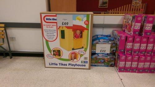 little tike playhouse £49 @ Asda