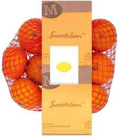 Sweet Clementines (600g) was 99p now 2 for 1 @ Morrisons (Larger Stores ONLY)