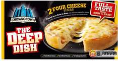 Chicago Town Deep Dish Pizzas (4 Cheeses or Pepperoni was £2.19 now £1.25 again @ Iceland