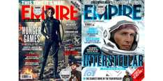 EMPIRE MAGAZINE 12 Issues for £9.99 Magazine Subscriptions.co.uk via Bespoke offers