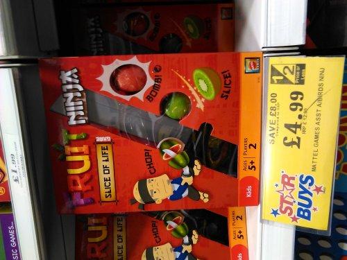 Fruit Ninja Slice Of Life Mattel Game @ Home Bargains