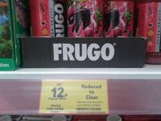 Frugo Pink 250ml Bottles 12p! @ Tesco Instore