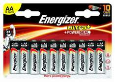16 x Energizer AA Alkaline Batteries Ultra Plus Powerseal £4.99 + P&P @ eBay / 3Monkeys
