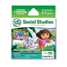 LeapFrog Explorer Game: Dora the Explorer Dora's Worldwide Rescue £5.75 @ amazon