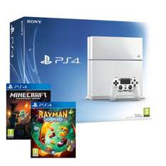 PS4 CONSOLE WHITE + MINECRAFT + RAYMAN LEGENDS - £314.99 delivered! Ebay/shopto