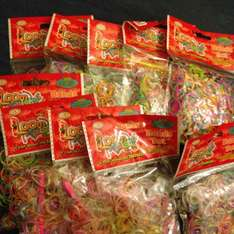 10 bags of Loom band (300) now only £1 at poundland