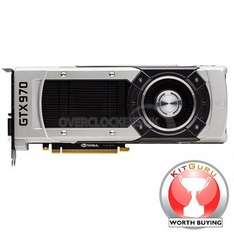 "OcUK GeForce GTX 970 ""NVIDIA 970 Cooler Edition"" 4096MB GDDR5 PCI-Express Graphics Card **WorldWide Exclusive**"