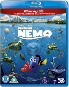 Finding Nemo 3D (Includes 2D Version) - Blu-ray 3D @ iwoot - ebay