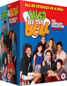 Saved By The Bell Complete DVD Series £26.99 Using First Order Code WELCOME @ Zavvi