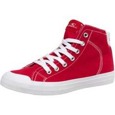 O'Neill Men's Crusher Hi Canvas Shoes Fiery Red £15.19 @ mandmdirect £3.99 p&p (free delivery on orders over £50)