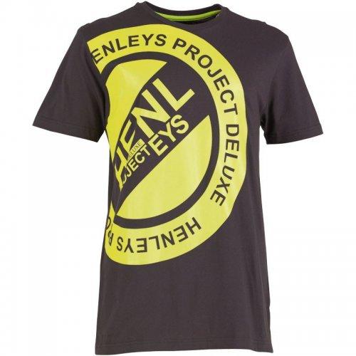 Henleys Men's Shots T-Shirt Black £4.99 plus £3.99 del @ mandmdirect.com