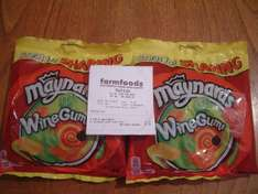 700g Maynards Wine Gums for £1 in Farmfoods 2 x 350g bags