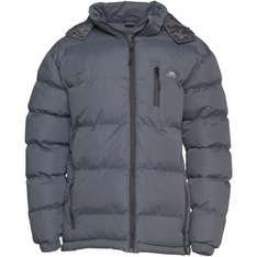 Trespass mens clip padded hooded jacket-Grey £18.99 just today! @ M&M Direct